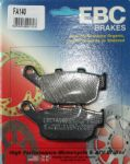 STREET TRIPLE 675 & R [All 2007-12]: REAR BRAKE PADS Organic 1 PAIR EBC FA140